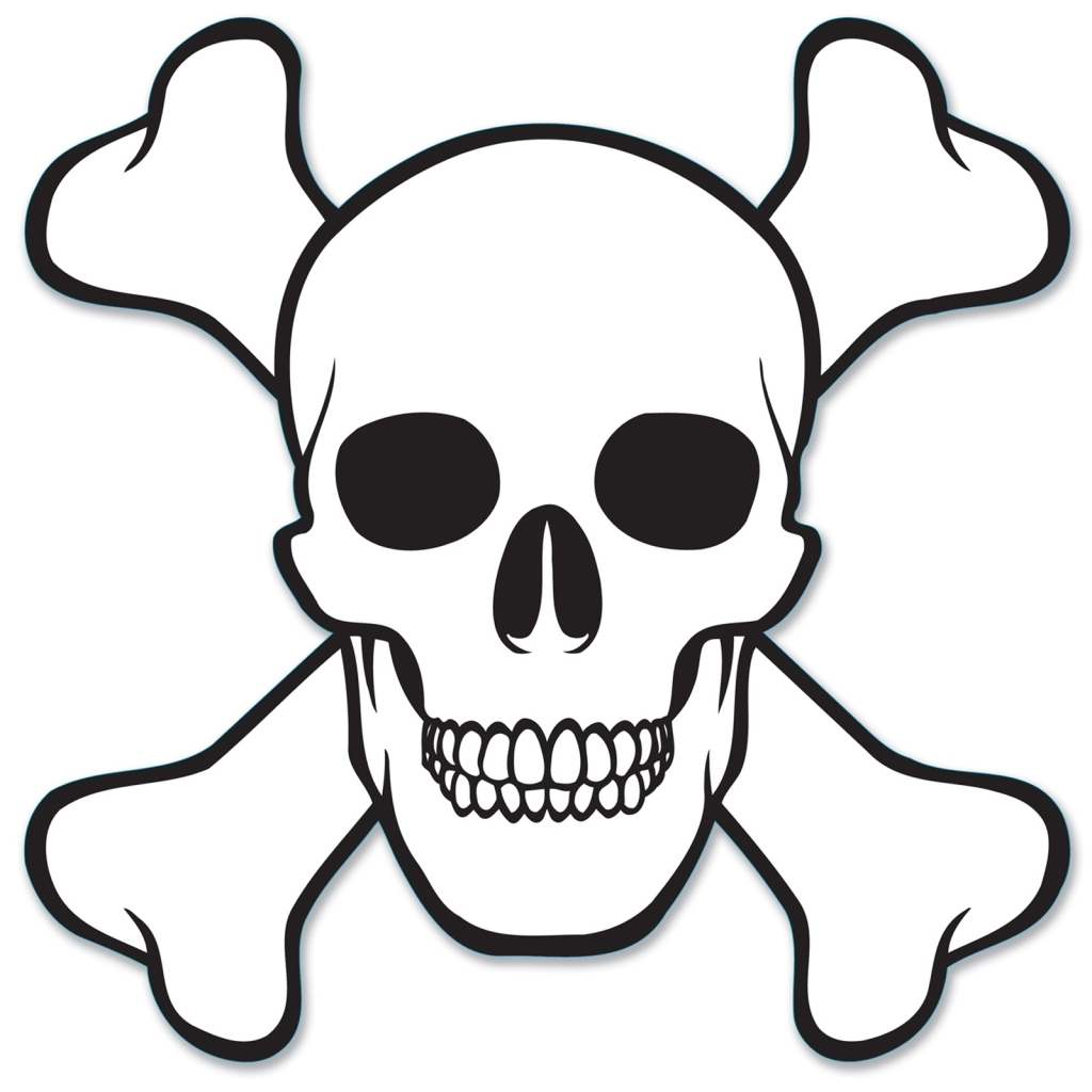 1024x1024 Easy Drawing Of Skulls Free Download Clip Art