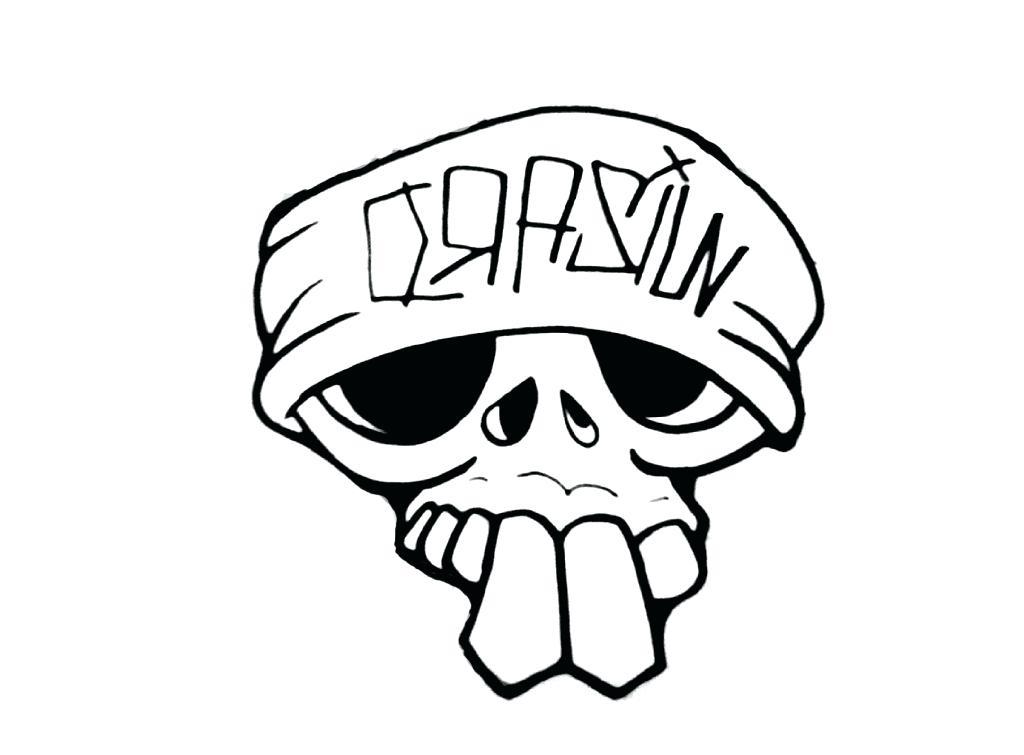 1024x755 Easy Skull Drawings How To Draw A Deer Skull Deer Skull Tattoo