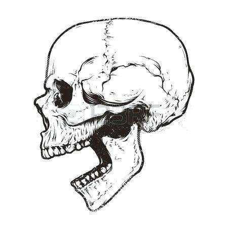 450x450 How To Draw An Easy Skeleton