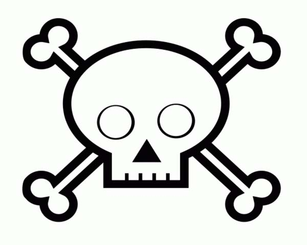 600x480 Skull For Kids Collection Of Skulls Drawings For Kids High