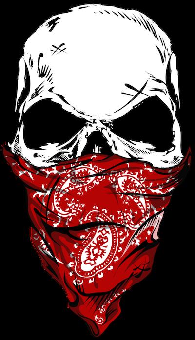 400x698 Hd Skulls Transparent Gangster