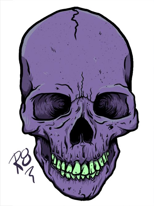 500x666 Skull Drawings Tumblr Better Went Back To A Human Skull