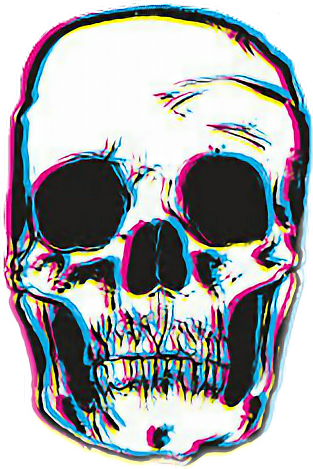 1024x1533 Skull Tumblr Download Free Clipart With A Transparent Background