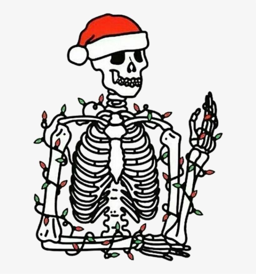 820x877 Tumblr Skeleton Bone Bones Skull Skulls Newyear Christm
