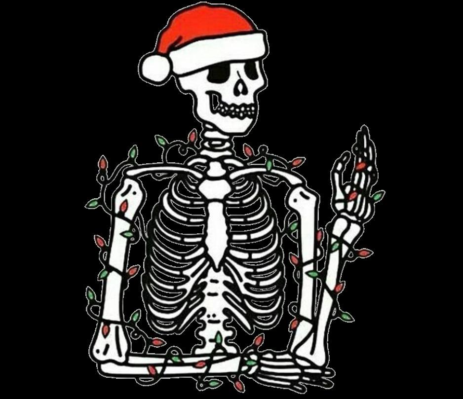 938x809 Tumblr Skeleton Bone Bones Skull Skulls Newyear Christm