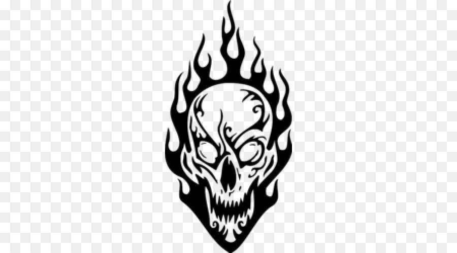 900x500 Huge Collection Of 'fire Skull Drawing' Download More Than