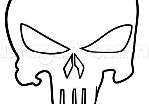 300x210 Draw A Skull Tutorial How To Draw A Skull In Under Minutes
