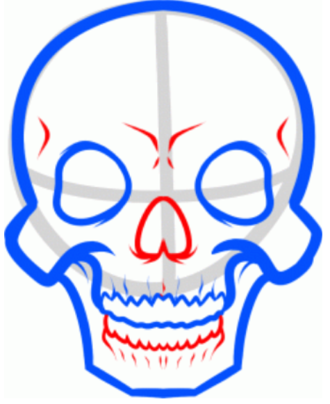 475x581 Ways To Improve Drawing How To Draw Skeleton Face And Skull