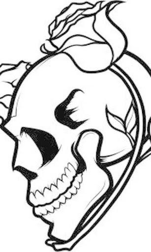 307x512 Bgthow To Draw Tattoos How To Draw Skulls