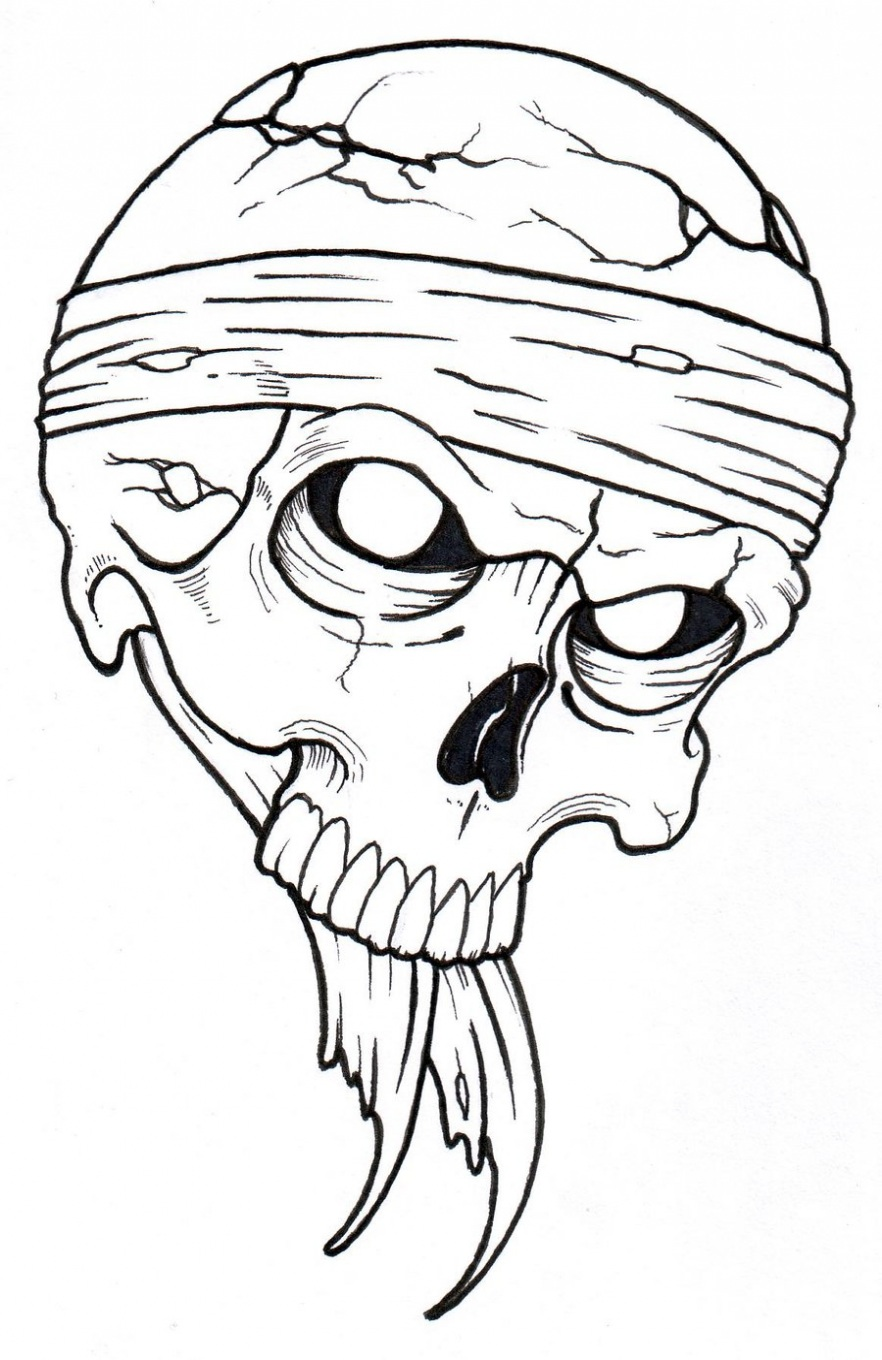 882x1360 Learn All About Skull Outline Drawing From This Politician