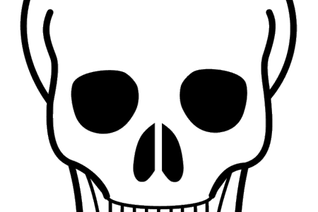 450x300 Rotate Resize Tool Drawing Outline Sugar Skull