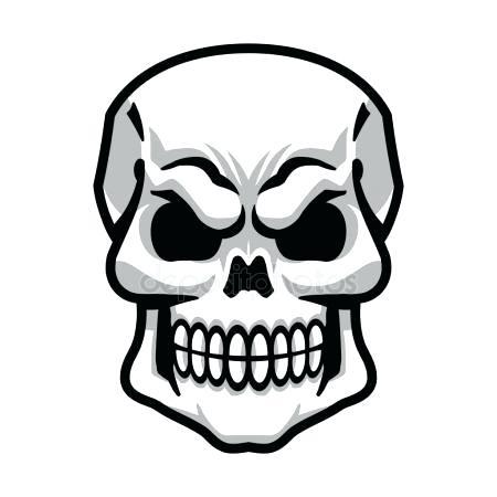 450x450 Skull Outline Outline Skull Decal Deer Skull Tattoo Outline