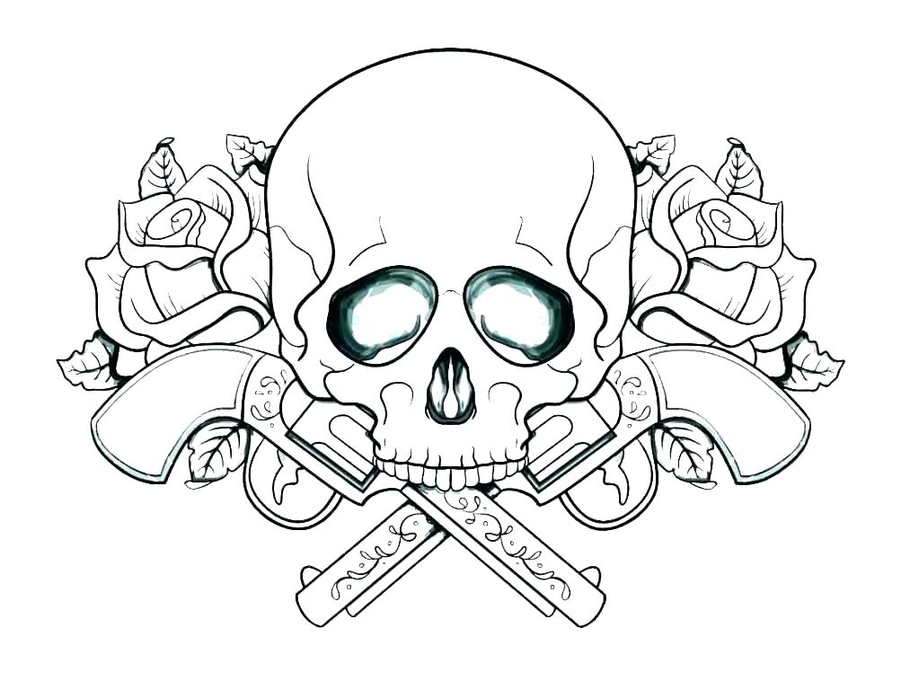 1013x768 Skull Outline Stock Vector Royalty Free Skull Outline Sugar Skull