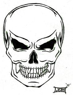 236x305 Best Heart Outline Skull Tattoo Designs Images Skull Tattoos