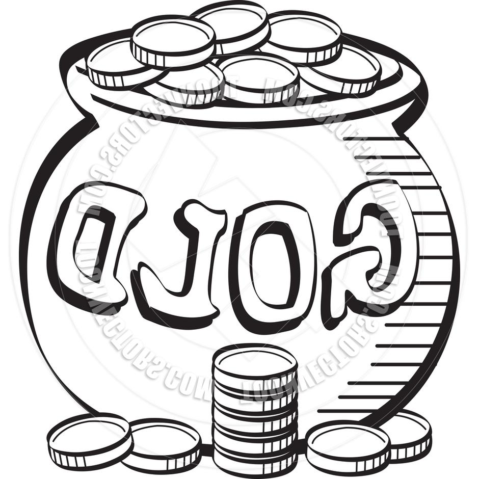 940x940 Coins Drawing Coin Pile For Free Download