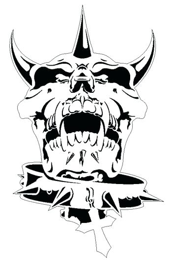 350x527 Skull Airbrush Stencil Template Airsick Painting Templates