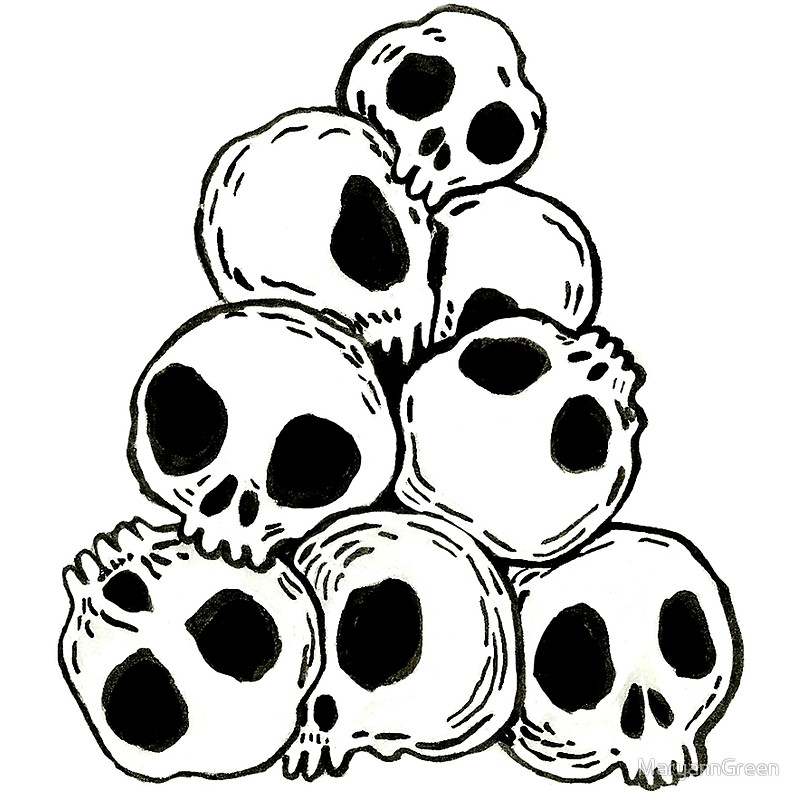 800x800 A Small Pile Of Skulls