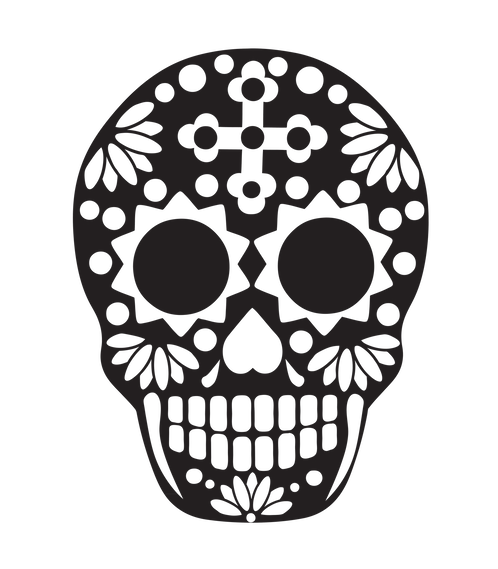 498x569 Collection Of Free Gold Drawing Skull Download On Ui Ex