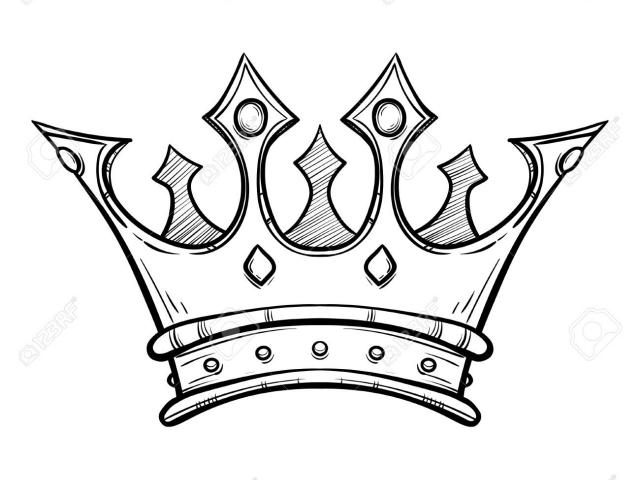640x480 Simple King Crown Drawing Free Download Clip Art