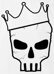 190x260 Skull Crown Men's Premium T Shirt Spreadshirt