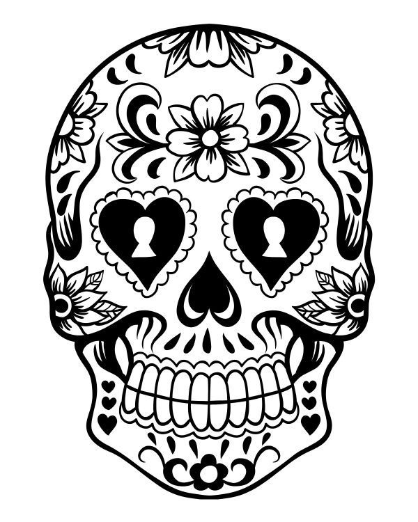 600x750 Skull With Crown Best Of Skull Graphic Luxury Skull Coloring