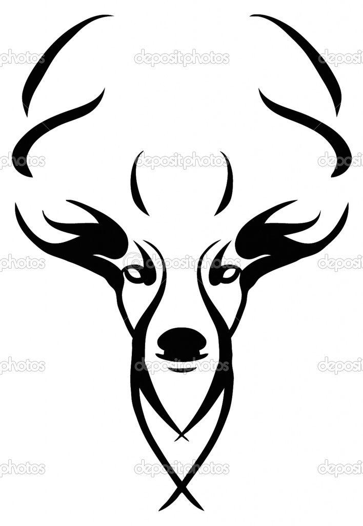 708x1024 Deer Skull Drawings Images Of Deer Skull Clip Art Pictures