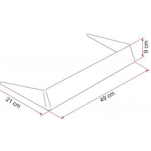 298x298 fiamma spoiler aleron for skylight x cm of motorhome