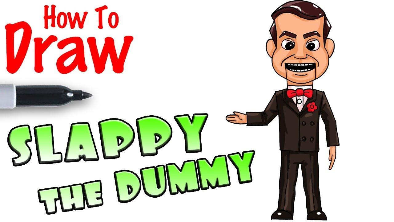 1280x720 how to draw slappy the dummy goosebumps