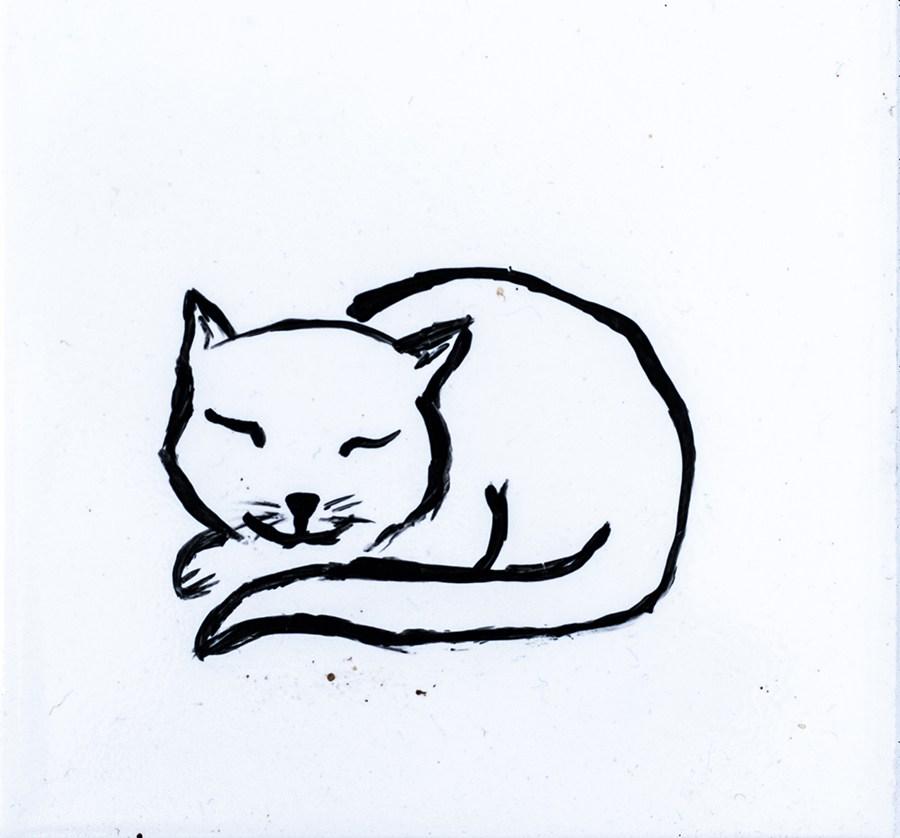 900x838 The Sleeping Cat Coaster Mc Art