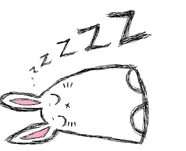 Sleeping Drawing