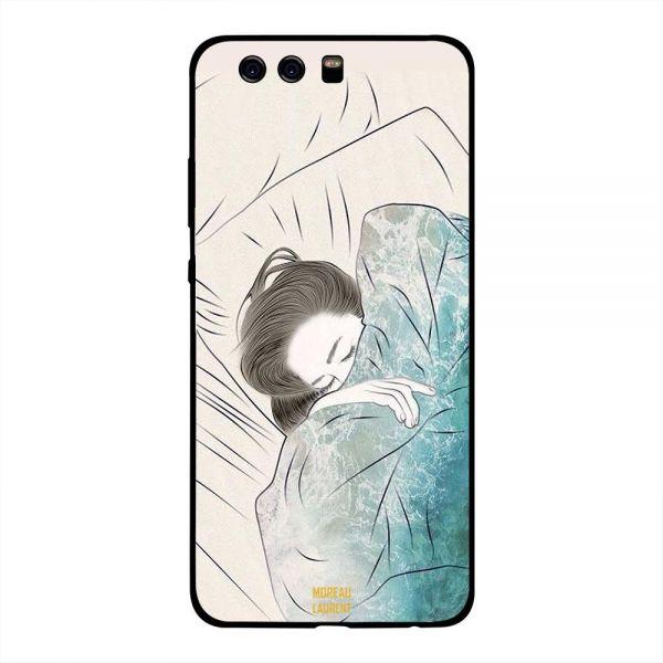 600x600 Huawei Plus Case Cover Doodle Girl Sleeping Souq