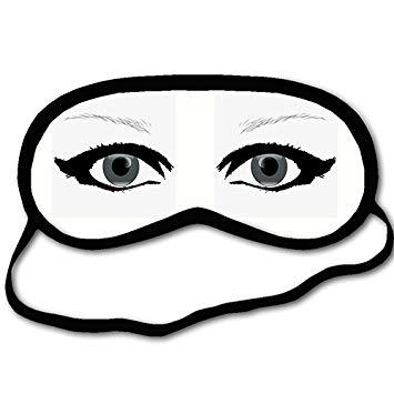 355x355 Personalized Sleeping Mask With Girl Eye