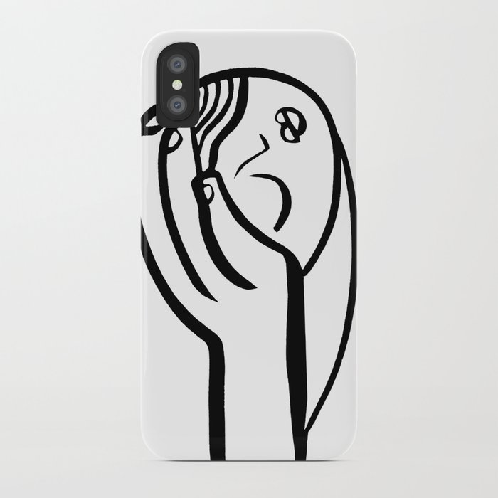700x700 Sleeping Girl Iphone Case