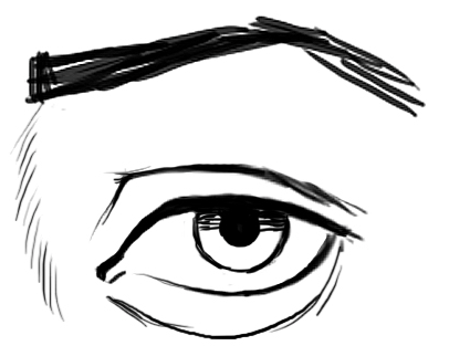 406x313 Tips For Drawing Realistic Eyes The Eyes Have It