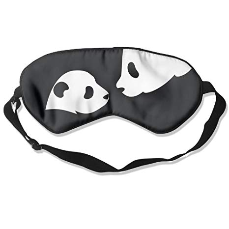 466x466 Comfortable Sleep Eyes Masks Panda Drawing Pattern Sleeping Mask