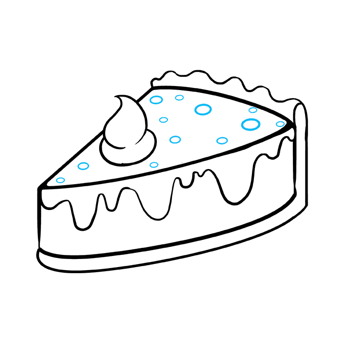 680x678 How To Draw A Tasty Pie