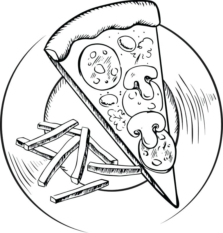 768x800 pizza slice drawing pizza slice apart pizza slice drawing easy