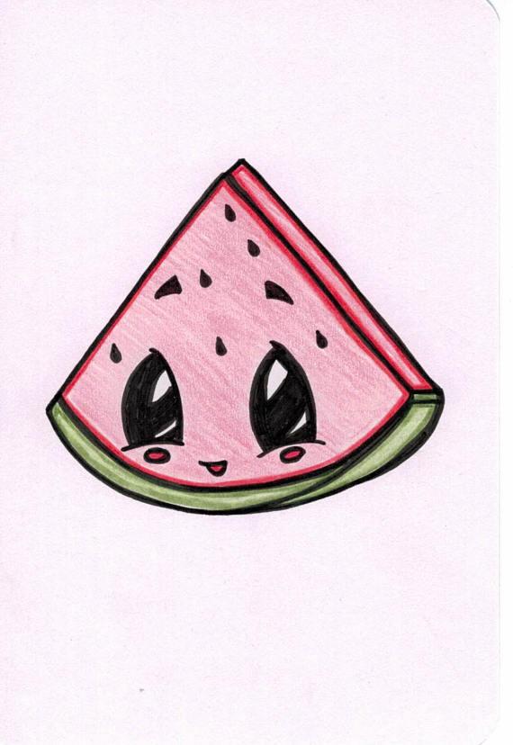 570x828 watermelon cartoon inkimagined watermelon cartoon, watermelon