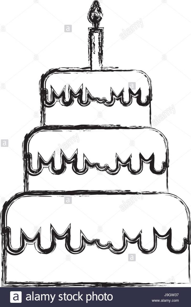 728x1167 Anniversary Cake Drawing Slice Clipart Birthday Color Banana
