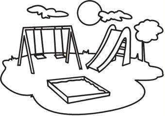 340x239 Crafts Playground, Kids Playing, Swing, Slide