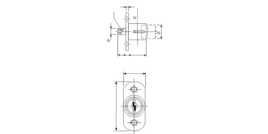 1020x510 Enox Wooden Sliding Door Lock Eml
