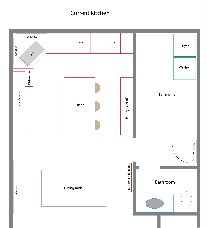 4808x5297 Plans Kitchen Definition Plan Floor Diner Island Meaning