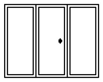 350x279 High Performance Sliding Door