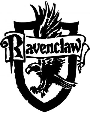 300x378 Harry Potter Ravenclaw Crest Car Or Truck Window Decal Sticker