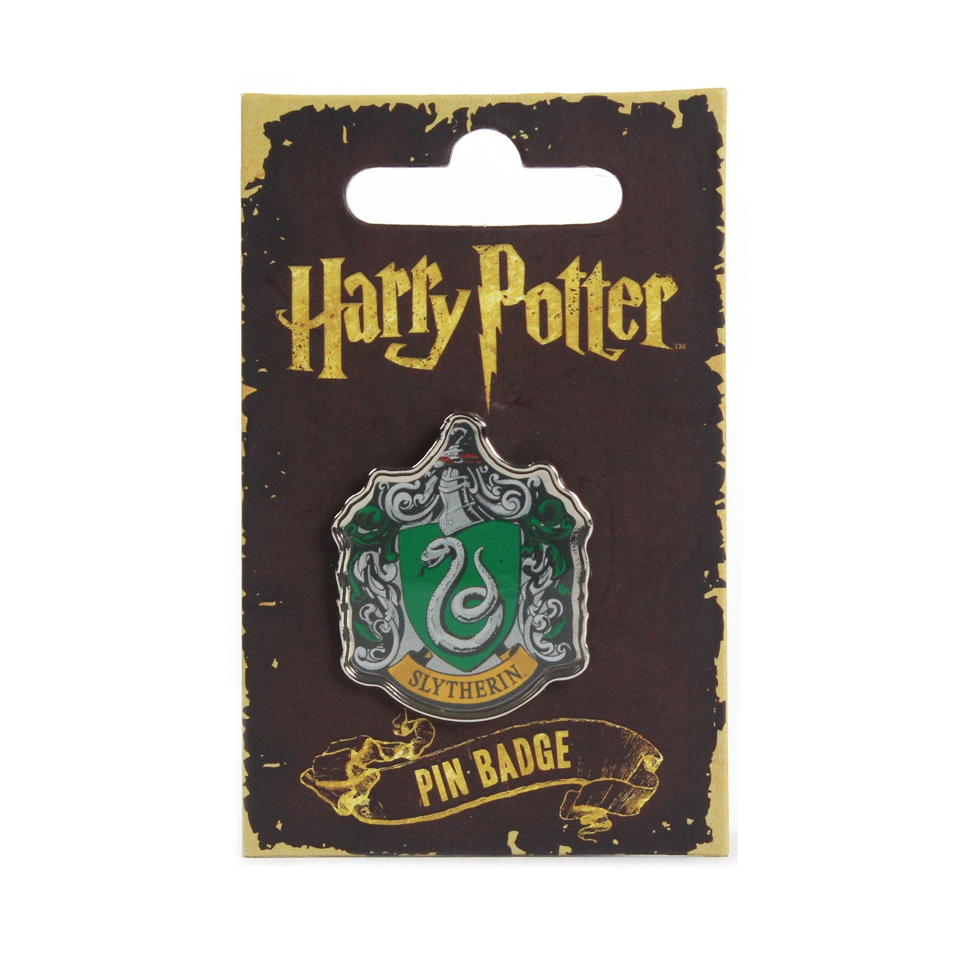 2000x2000 Harry Potter Slytherin Enamel Badge