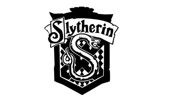 570x337 Slytherin Crest Harry Potter Decal