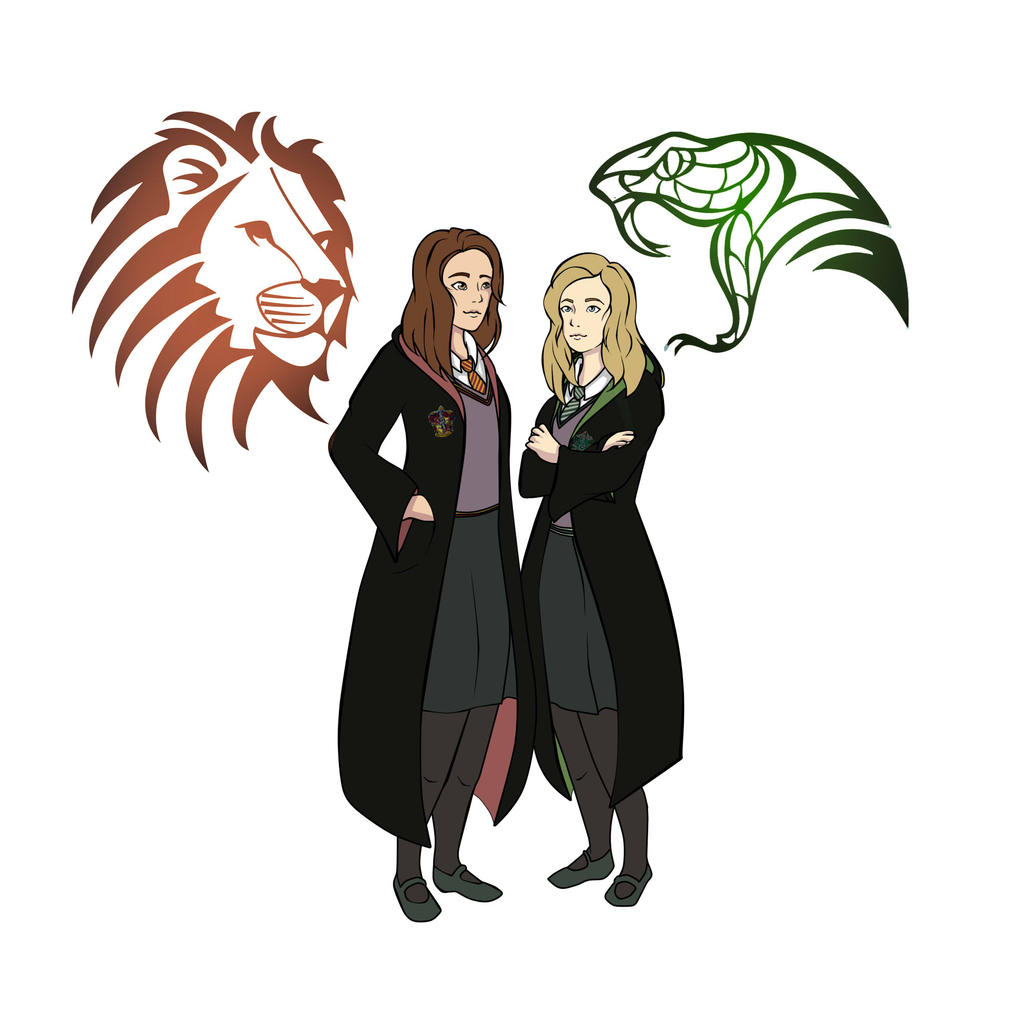 1024x1024 Gryffindor And Slytherin
