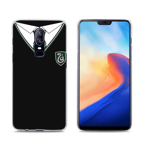 575x575 Transparent Hard Case For Oneplus Harry Potter Slytherin School Cres