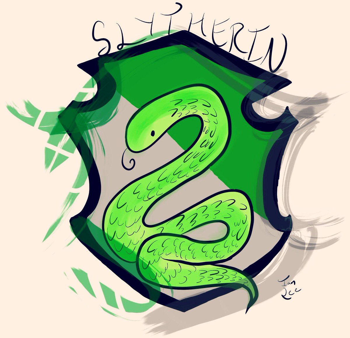 1200x1160 Ian Lee On Twitter Slytherin