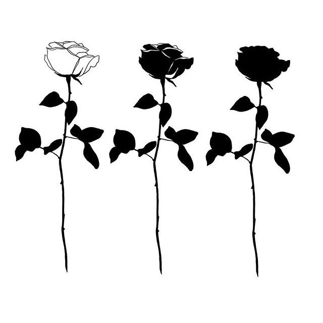 640x640 best black rose tattoos ideas black and grey rose, grey